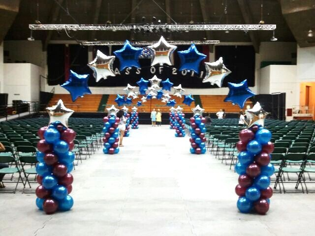 Graduation for Balloon decoration ideas for graduation